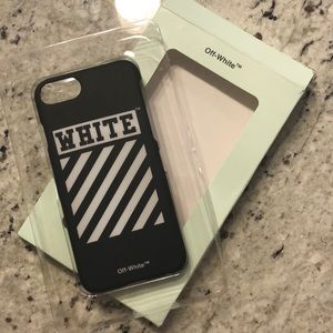 Off White iPhone 6/6s/7/8 case like new